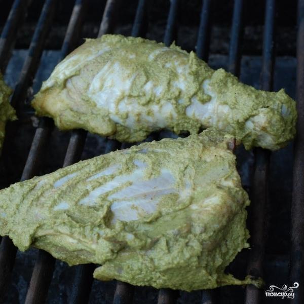 Ароматная курица на гриле - фото шаг 7