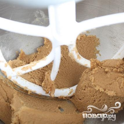 Печенье с шоколадом и соломкой - фото шаг 1