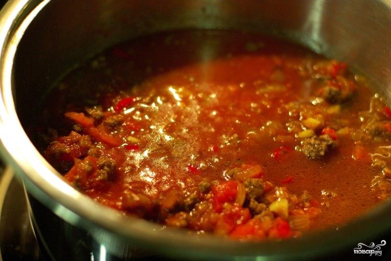 Суп чили - фото шаг 7