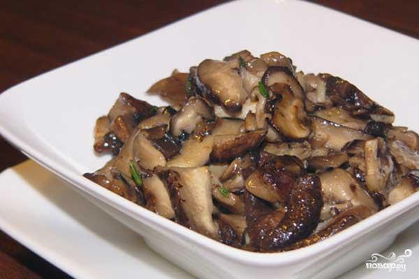Рецепты жареных грибов