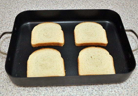 Рецепт Бутерброды в духовке с яйцом