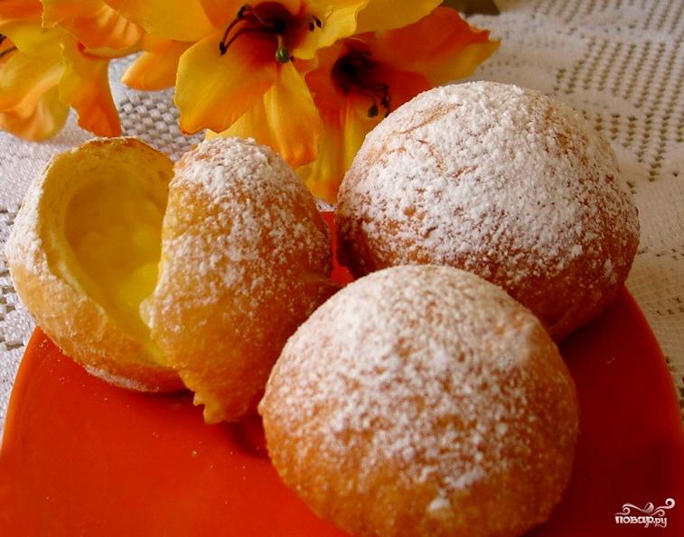 Круглые пончики рецепт пошаговый 46