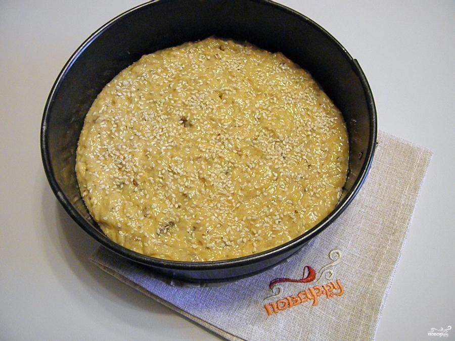 Постный пирог с тыквой - фото шаг 9