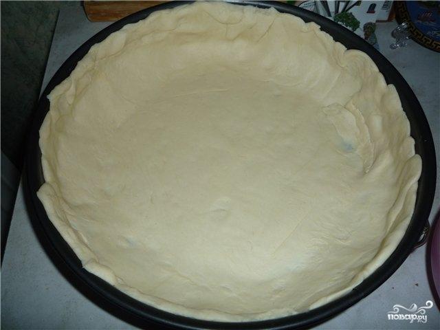 Пирог с мясом из слоеного бездрожжевого теста - фото шаг 4