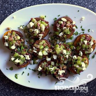 Сладкий картофель с орехами и сыром - фото шаг 4