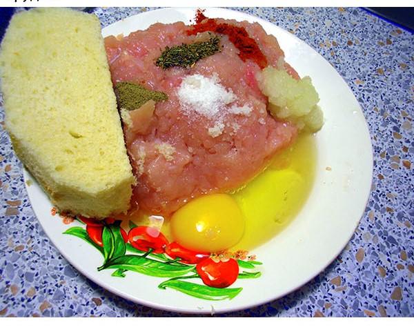 Куриные зразы с сыром - фото шаг 2