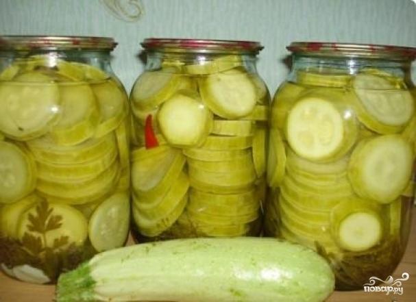 рецепт соленых кабачков фото