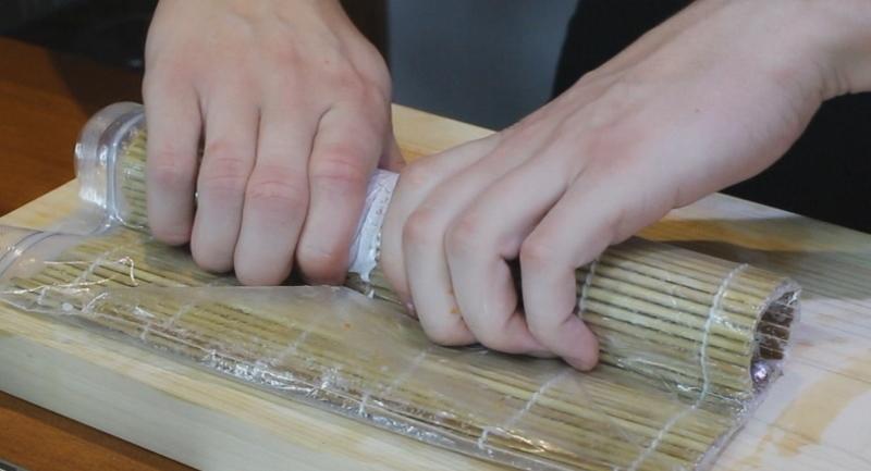 Запеченные суши - фото шаг 4