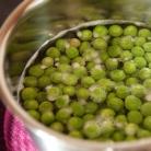 Рецепт Брускетта с зеленым горошком и креветками
