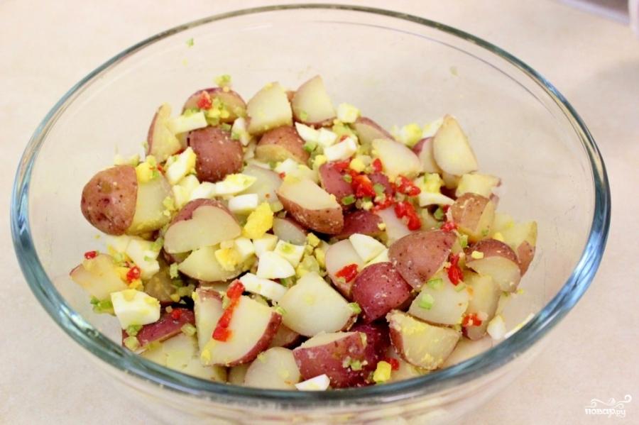 Рецепт Картофельный салат баварский