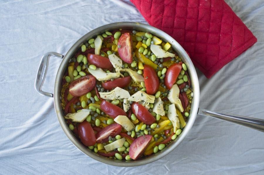 Паэлья вегетарианская - фото шаг 6