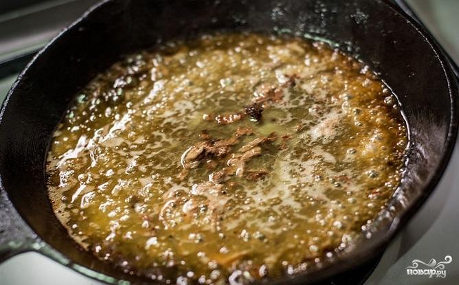 Стейк рибай на сковороде - фото шаг 5