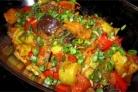 Тушеные овощи в утятнице