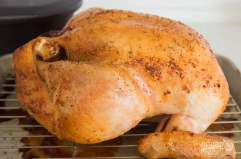 Как сделать чтобы курица была хрустящей 786