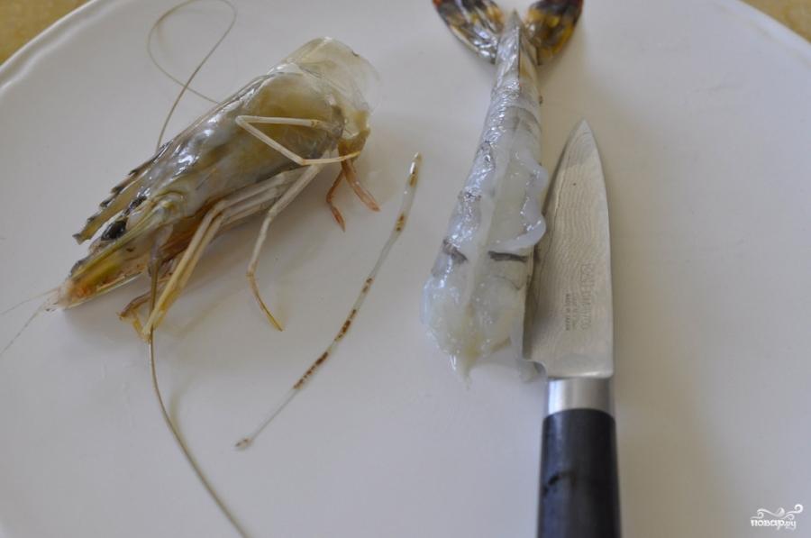 Рукола с креветками - фото шаг 2