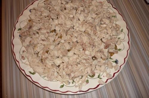 рецепты салатов с ананасами консервированными и грибами
