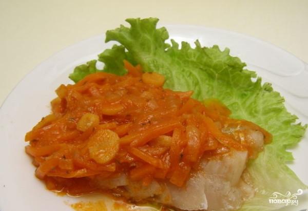 Рыба тушеная под маринадом (классический рецепт) - фото шаг 6