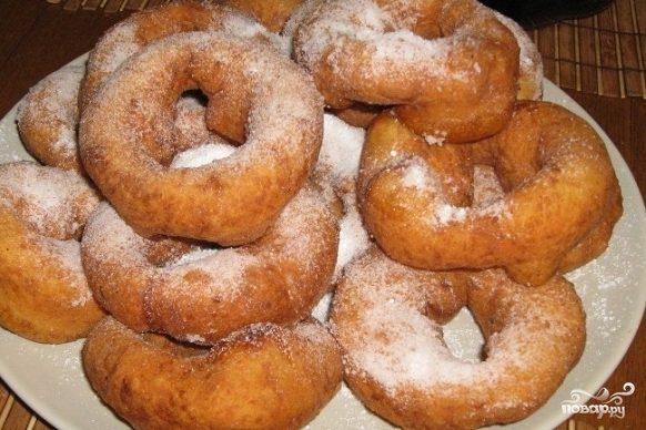 Рецепт Пончики колечки