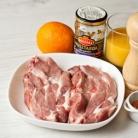 Рецепт Стейк из свинины с апельсиново-горчичным соусом