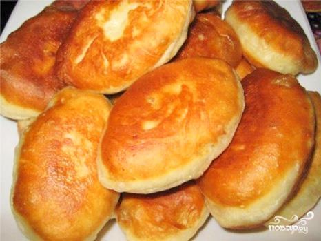 Пирожки с картошкой на кефире