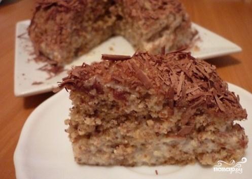 Ореховый торт за 5 минут