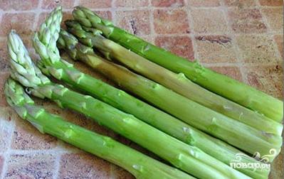 Салат со спаржей - фото шаг 1