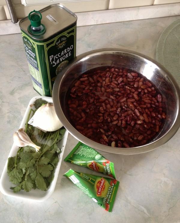 Рецепт Лобио из красной фасоли в мультиварке