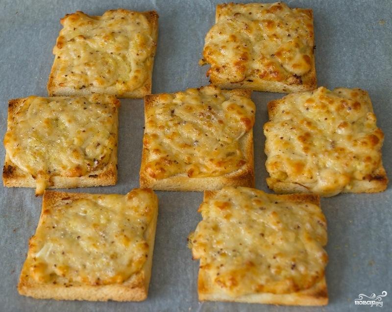 Гренки с сыром - фото шаг 5