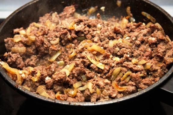 Рецепт Картошка с мясом в духовке