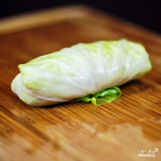 Запеченные голубцы в сметанном соусе - фото шаг 15