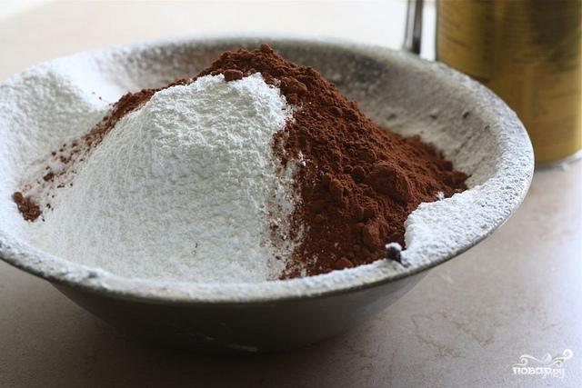 Торт с шоколадным кремом - фото шаг 6