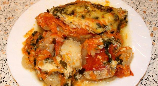 рыба с овощами в мультиварке редмонд рецепты