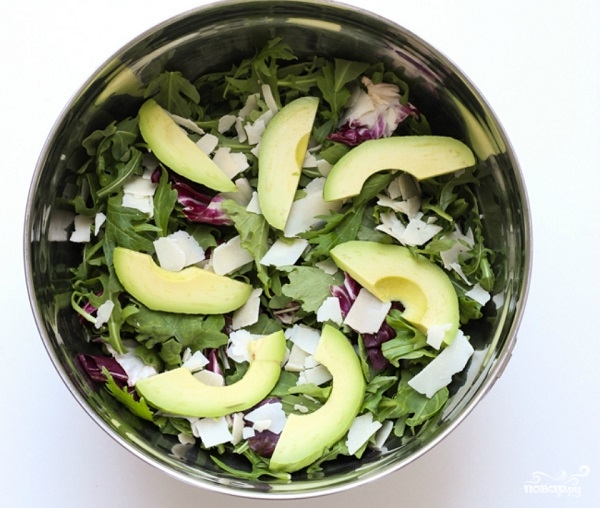 Салат с кедровыми орешками - фото шаг 3