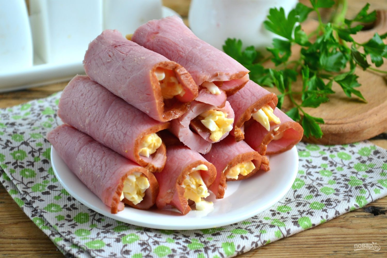 Блюда из колбасы вареной рецепты с фото