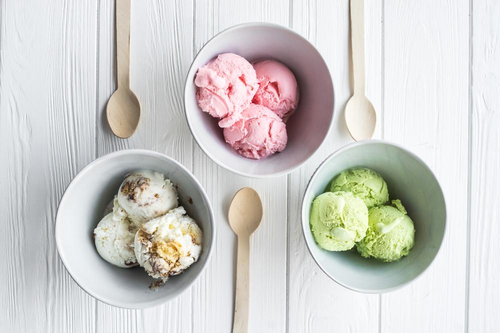 Мороженое; джелато