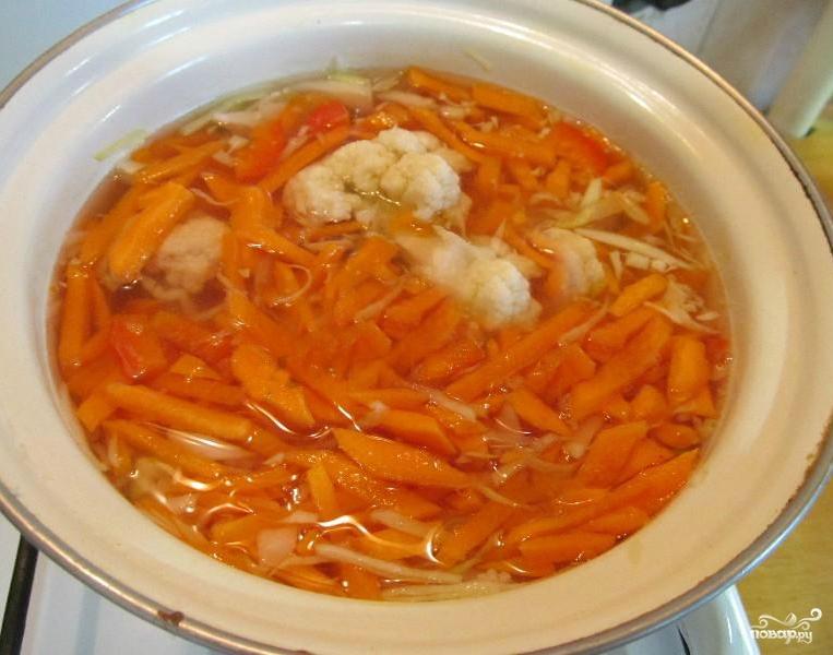 Жиросжигающий суп - фото шаг 2