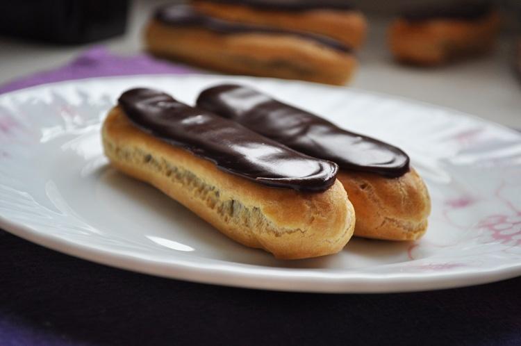 Шоколадные эклеры - фото шаг 20