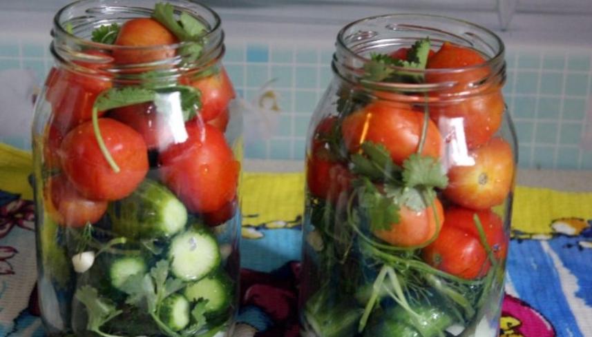 Ассорти из овощей на зиму - фото шаг 3