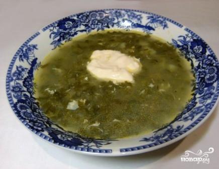 Суп из консервированного щавеля - фото шаг 8