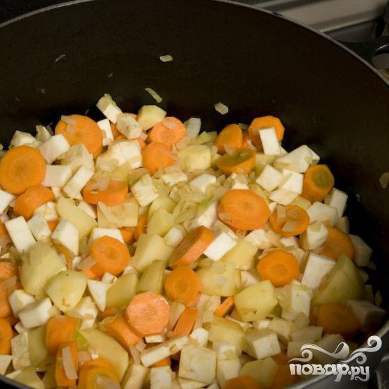Французский гороховый суп - фото шаг 11
