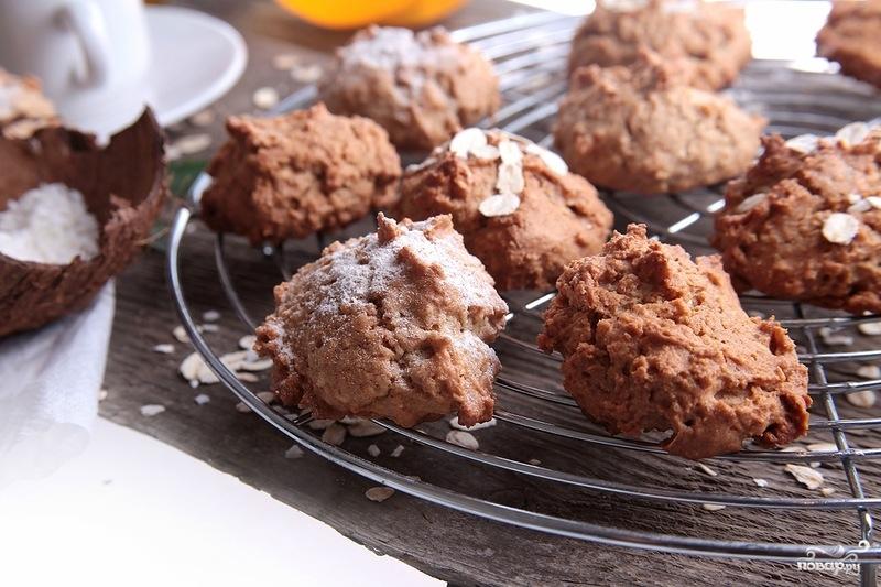 Овсяное печенье с кокосовой стружкой - фото шаг 6