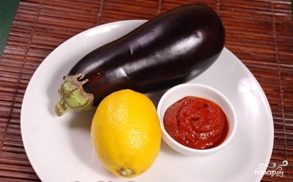 Баклажаны в кисло-сладком соусе - фото шаг 1