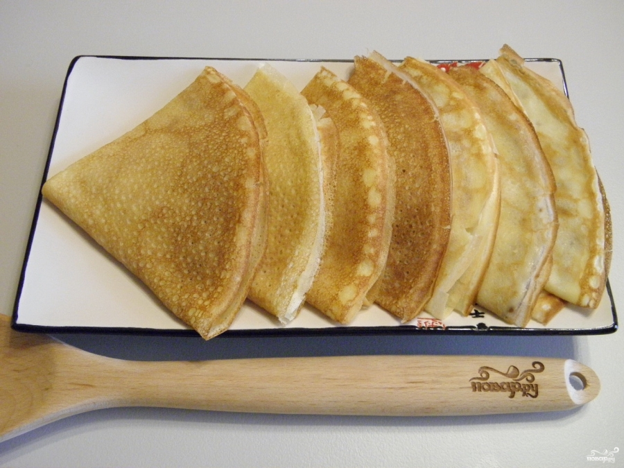 Простой рецепт блинов на кефире тонкие
