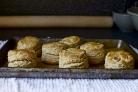 Овсяные булочки с кленовым сиропом