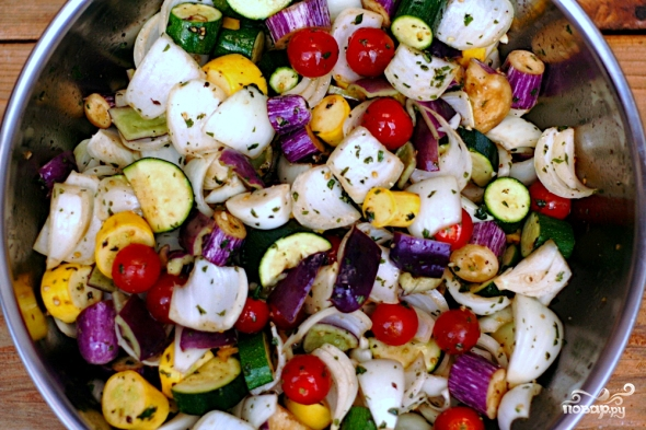 Маринад для овощей гриль - фото шаг 1