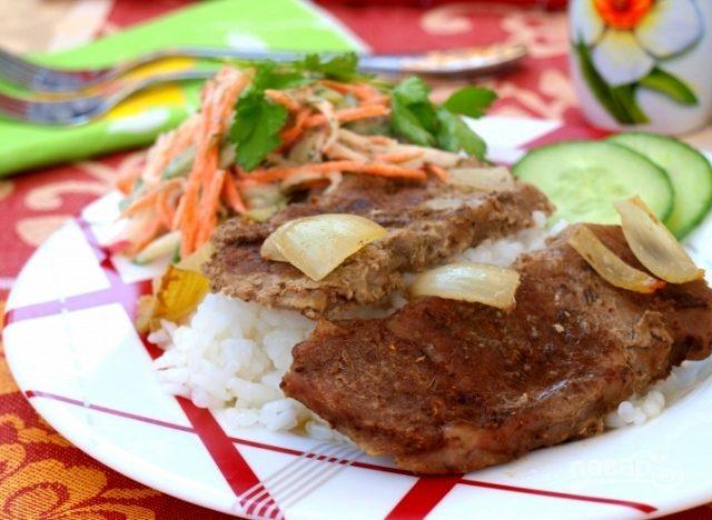 рецепт говядины в духовке фото рецепт