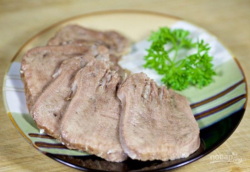 свиной язык рецепты с фото в духовке с