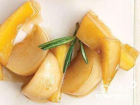 Рецепт Жареные репа и пастернак в сиропе