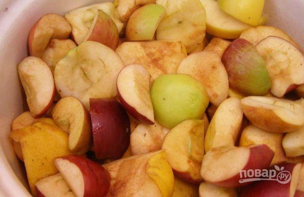 Индейка с фруктами