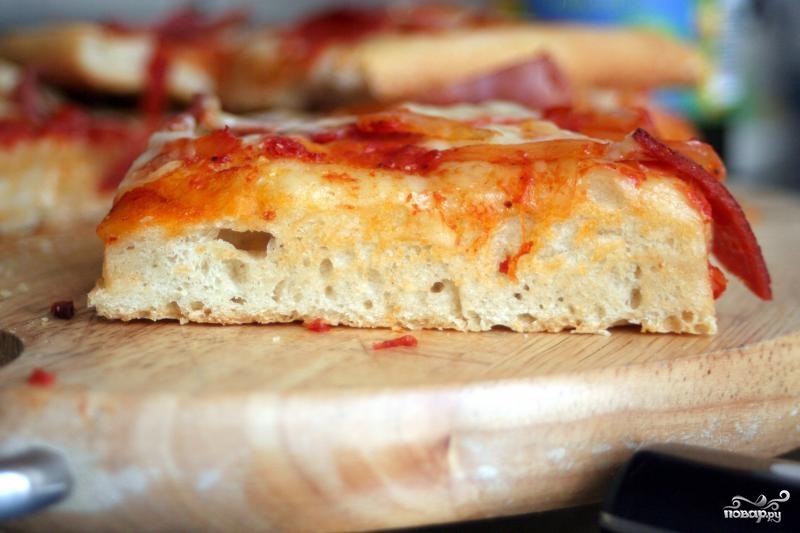 Рецепт Сицилийская пицца Sfincione